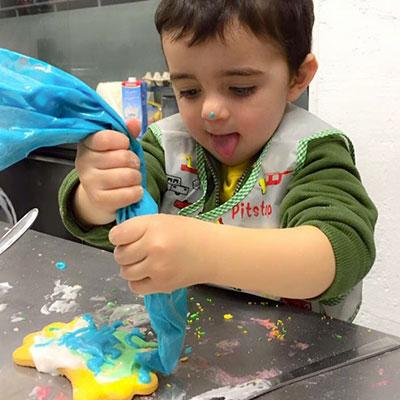 Laboratorio gastronomico per bambini Parma